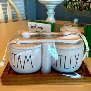 NWT Rae Dunn Jam and Jelly Set